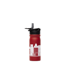 Dutchies Water Bottle Red Canal Houses 400 ml