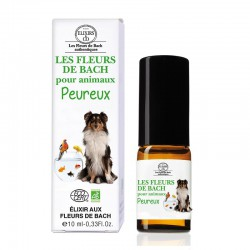 Bach elixir for fearful pets organic-- 10ml