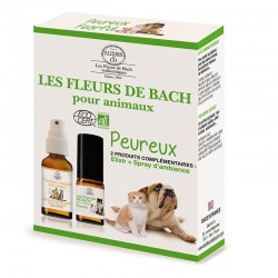 Bach flowers for fearful pets set organic -- 10/20ml