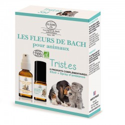Bach flowers for sad pets set organic -- 10/20ml