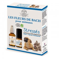 Bach flowers for stressed pets set organic -- 10/20ml