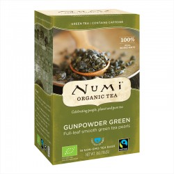 Numi Organic Tea Gunpowder Green -- 18x2g