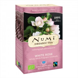 Numi Organic Tea White Rose -- 16x2g