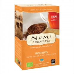 Numi Organic Herbal Tea Rooibos -- 18x2.4g