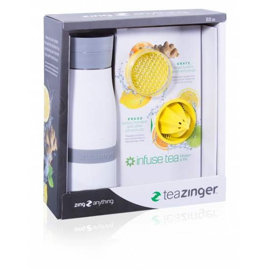 Tea Zinger Gift Set - White