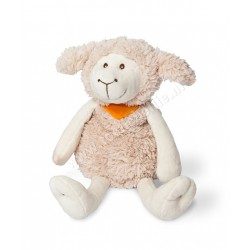 Warming soft toy mama sheep with cherry pit pillow