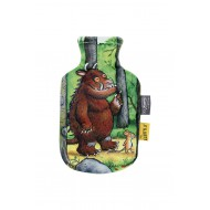 Hot water bottle with printed cover Gruffalo - 0,8 L
